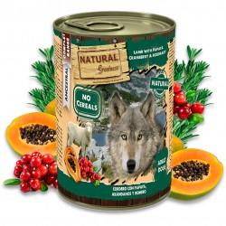 Pâtées pour chien : Agneau à la papaye, myrtilles et romarin