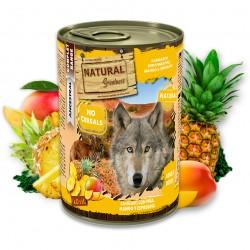 Kangourou avec Ananas, Mangue et Spiruline