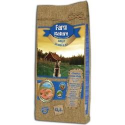 FARM NATURE croquettes au Saumon & Riz pour Chien Adulte Sensible